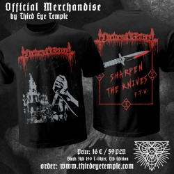 NOCTURNAL GRAVES - Sharpen the Knives T-SHIRT