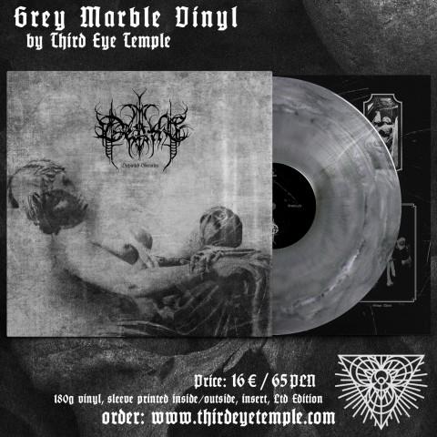 DEARTHE - Dispirited Obscurity LP GREY Ltd 150